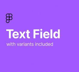 Material Design Text Field UI Kit Figma