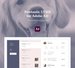 Pawtastic Shop UI Kit adobexd free downloiad