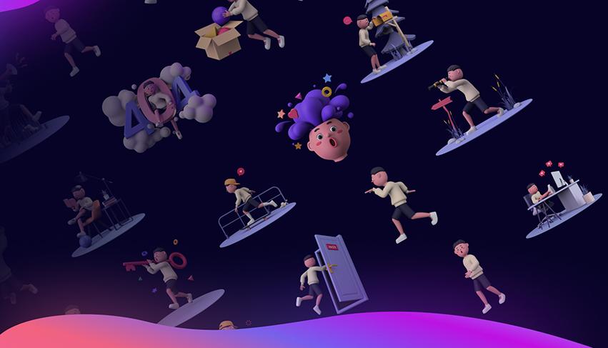 1000+ 3D Illustrations