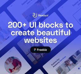 200+ UI Design Blocks free