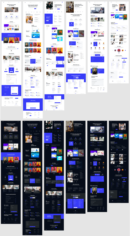 200+ UI Design Blocks