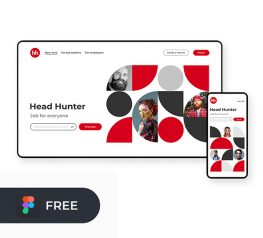 Agency Website Template figma free download