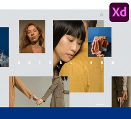 Fashion Editorial UI Kit