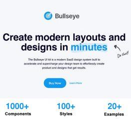 Bullseye Lite Figma UI Kit free download